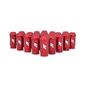 Mishimoto - FLDS Mishimoto Aluminum Competition Lug Nuts, M12 X 1.25 MMLG-125-RD - Image 1