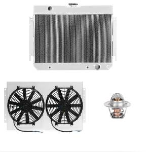 Engine Cooling - Radiators - Mishimoto - FLDS Chevrolet Chevelle (250/283) Cooling Package MMCPKG-CHE-65