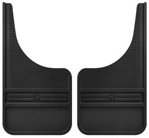 Husky Liners - Husky Liners Rubber Front Mud Flaps - 12IN w/o Weight 55000