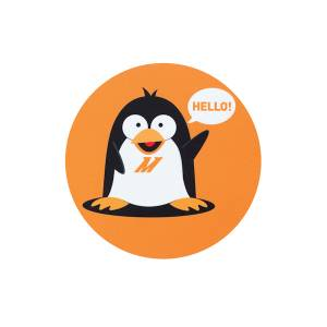 Apparel & Accessories - Misc. Accessories - Mishimoto - FLDS Chilly The Penguin Mouse Pad MMPROMO-MPAD-HELLO