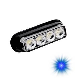 Oracle Lighting - Oracle Lighting ORACLE 4 LED Undercover Strobe Light - Blue 3402-002