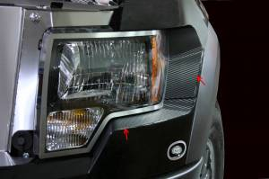 Lighting - Lighting Accessories - American Car Craft - American Car Craft Headlight Carbon Fiber Wrap 2pc 772003