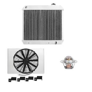 Engine Cooling - Radiators - Mishimoto - FLDS Chevy/GMC C/K Truck (250/283/292) Cooling Package MMCPKG-CK-63