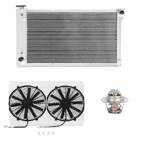 Engine Cooling - Radiators - Mishimoto - FLDS Chevrolet/GMC C/K Truck (250/283/292) Cooling Package MMCPKG-CK-67