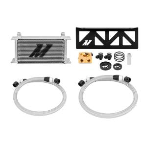 Performance - Oil System & Parts - Mishimoto - FLDS Subaru BRZ / Scion FR-S Thermostatic Oil Cooler Kit MMOC-BRZ-13T