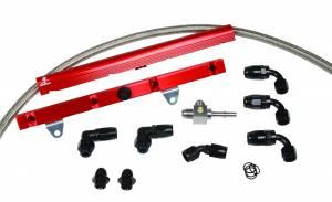 Fuel System - Fuel System Parts - Aeromotive Fuel System - Aeromotive Fuel System 1999 thru 2004 C5 Corvette Rail Kit 14128