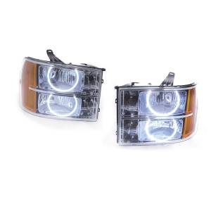 Oracle Lighting - Oracle Lighting 2007-2013 Chevrolet Silverado SMD HL - Round Style 7007-001