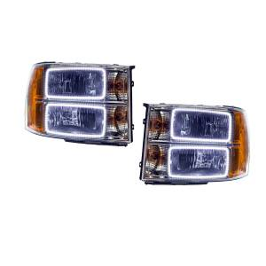 Oracle Lighting - Oracle Lighting 2007-2013 GMC Sierra SMD HL - Square Ring Design 7054-001