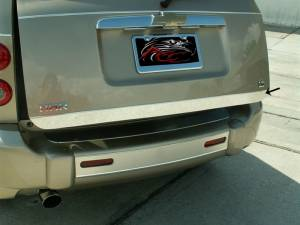Bed Accessories - Truck Bed Accessories - American Car Craft - American Car Craft Lower Tailgate Trim Polished 422010