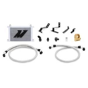 Performance - Oil System & Parts - Mishimoto - FLDS Chevrolet Camaro SS Oil Cooler Kit, 2016+ MMOC-CAM8-16TSL