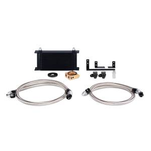Performance - Oil System & Parts - Mishimoto - FLDS Mazda Miata Oil Cooler Kit MMOC-MIA-16TBK