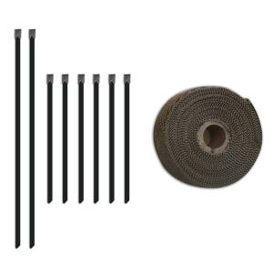 Exhaust Components - Exhaust Accessory Hardware - Mishimoto - FLDS Exhaust Heat Wrap Set MMTW-235