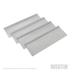 Westin 9in. x 15in. tray w/4 silver aluminum dividers. Fits tool boxes 80-RB184; 80-RB1 80-TR11