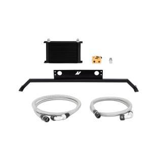 Performance - Oil System & Parts - Mishimoto - FLDS Ford Mustang 5.0L Oil Cooler Kit MMOC-MUS-11TBK