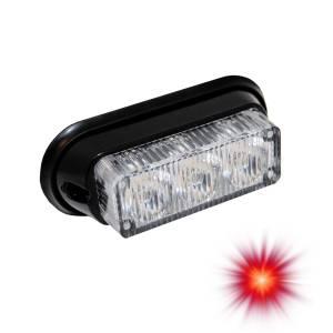 Oracle Lighting - Oracle Lighting ORACLE 3 LED Undercover Strobe Light - Red 3401-003
