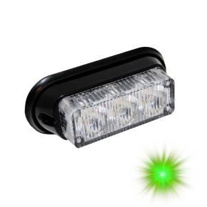 Oracle Lighting - Oracle Lighting ORACLE 3 LED Undercover Strobe Light - Green 3401-004