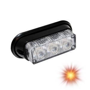 Oracle Lighting - Oracle Lighting ORACLE 3 LED Undercover Strobe Light - Amber 3401-005