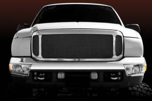 T-Rex - T-Rex Assembly Grille, Polished, Aluminum, 1 Pc, Replacement 50572