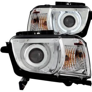 ANZO USA Projector Headlight Set w/Halo 121311