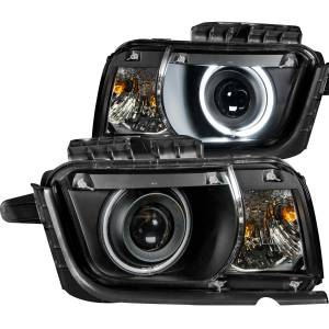 ANZO USA Projector Headlight Set w/Halo 121312
