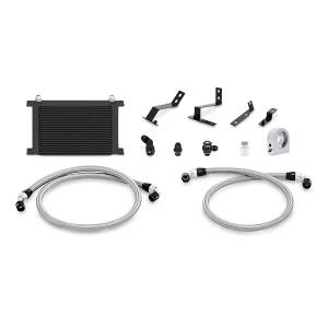 Performance - Oil System & Parts - Mishimoto - FLDS Chevrolet Camaro SS Oil Cooler Kit, 2016+ MMOC-CAM8-16BK