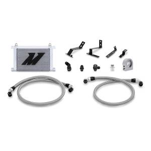 Performance - Oil System & Parts - Mishimoto - FLDS Chevrolet Camaro SS Oil Cooler Kit, 2016+ MMOC-CAM8-16SL
