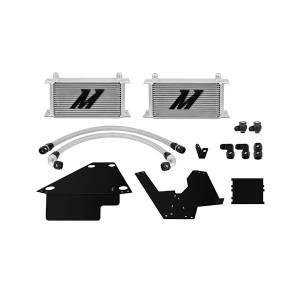 Performance - Oil System & Parts - Mishimoto - FLDS Mitsubishi Lancer Evolution X Oil Cooler Kit MMOC-EVO-08