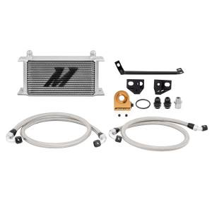 Performance - Oil System & Parts - Mishimoto - FLDS Ford Mustang EcoBoost Thermostatic Oil Cooler Kit MMOC-MUS4-15T