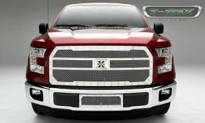 T-Rex - T-Rex X-Metal Grille, Polished, Stainless Steel, 1 Pc, Replacement 6715730 - Image 1