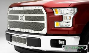 T-Rex - T-Rex X-Metal Grille, Polished, Stainless Steel, 1 Pc, Replacement 6715730 - Image 2