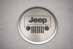 American Car Craft A/C Duct Trim Plates Jeep Logo Style 4pc 141001
