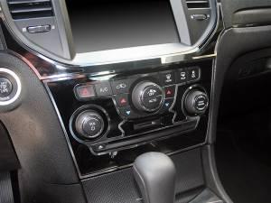 American Car Craft A/C Radio Control Trim Rings 2pc 331021