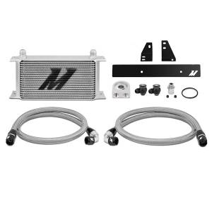 Performance - Oil System & Parts - Mishimoto - FLDS Nissan 370Z/ Infiniti G37 (Coupe only) Oil Cooler Kit MMOC-370Z-09