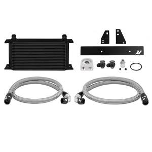 Performance - Oil System & Parts - Mishimoto - FLDS Nissan 370Z/ Infiniti G37 (Coupe only) Oil Cooler Kit, Black MMOC-370Z-09BK