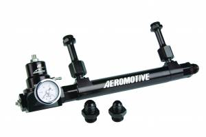Air Intakes - Accessories - Aeromotive Fuel System - Aeromotive Fuel System Fuel Rail Regulator Kit, Incl 14201 Adj Fuel Log, 13212 Regulator 17248