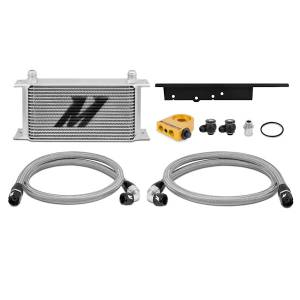 Performance - Oil System & Parts - Mishimoto - FLDS Nissan 350Z / Infiniti G35 Coupe Thermostatic Oil Cooler Kit MMOC-350Z-03T