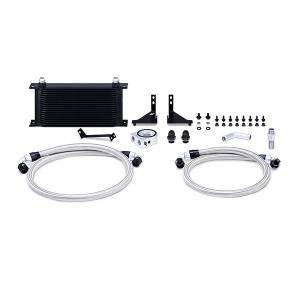 Performance - Oil System & Parts - Mishimoto - FLDS Ford Fiesta ST Oil Cooler Kit MMOC-FIST-14BK