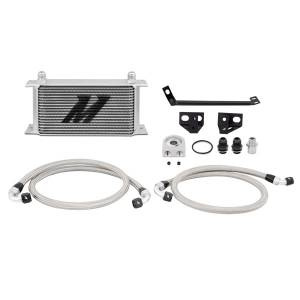 Performance - Oil System & Parts - Mishimoto - FLDS Ford Mustang EcoBoost Oil Cooler Kit MMOC-MUS4-15
