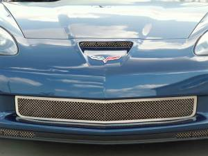Exterior - Grilles - American Car Craft - American Car Craft Grille Laser Mesh Front Z06 042043