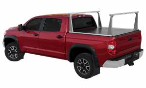 Bed Accessories - Ladder/Headache Racks - Access Covers - Access Cover ADARAC Aluminum Pro Series Truck Bed Rack System 4001676