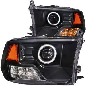 ANZO USA - ANZO USA Projector Headlight Set w/Halo 111159