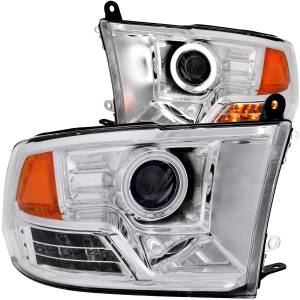 ANZO USA - ANZO USA Projector Headlight Set w/Halo 111160