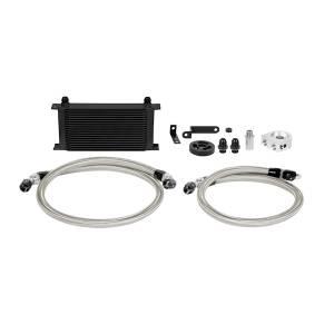 Mishimoto - FLDS Subaru WRX Oil Cooler Kit, Black MMOC-WRX-08BK - Image 1