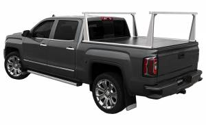 Bed Accessories - Ladder/Headache Racks - Access Covers - Access Cover ADARAC Aluminum Pro Series Truck Bed Rack System 4002965