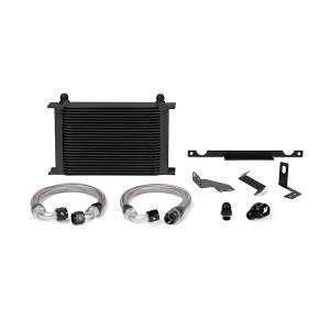 Performance - Oil System & Parts - Mishimoto - FLDS Mitsubishi Lancer Evolution 7/8/9 Oil Cooler Kit, Black MMOC-EVO-01BK