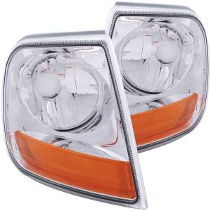 Lighting - Cab & Marker Lights - ANZO USA - ANZO USA Cornering Light Assembly 521026