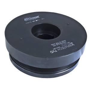 Fluidampr - Fluidampr Harmonic Balancer - Fluidampr - GM - 2001-2005 6.6L Duramax LLY/LB7 - Each 890101