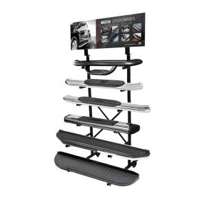 Westin Includes: 55470 Step Up Tower Display; 55411 Header Card (12in. x 36in.); 21-524 55476