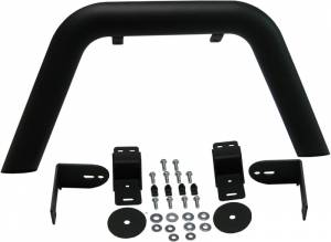 MBRP Exhaust Front Light Bar/Grill Guard System; LineX Coated 130716LX