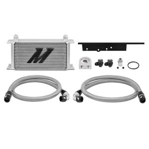 Performance - Oil System & Parts - Mishimoto - FLDS Nissan 350Z / Infiniti G35 Coupe Oil Cooler Kit MMOC-350Z-03